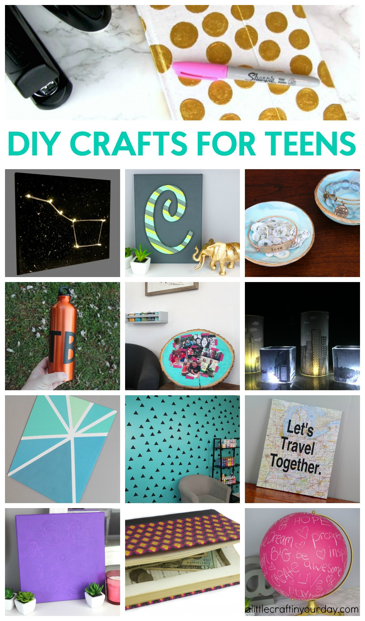 Best ideas about Craft Ideas For Teens . Save or Pin DIY Crafts for Teens A Little Craft In Your Day Now.