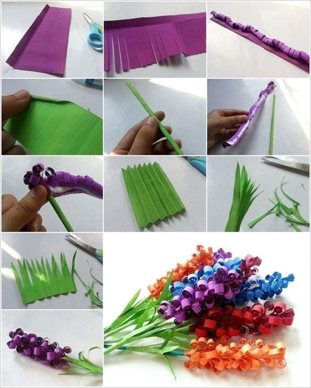 Best ideas about Craft Ideas For Teens . Save or Pin Swirly Paper Flowers 2 CRAFTS FLOWERS DIY 1 Now.