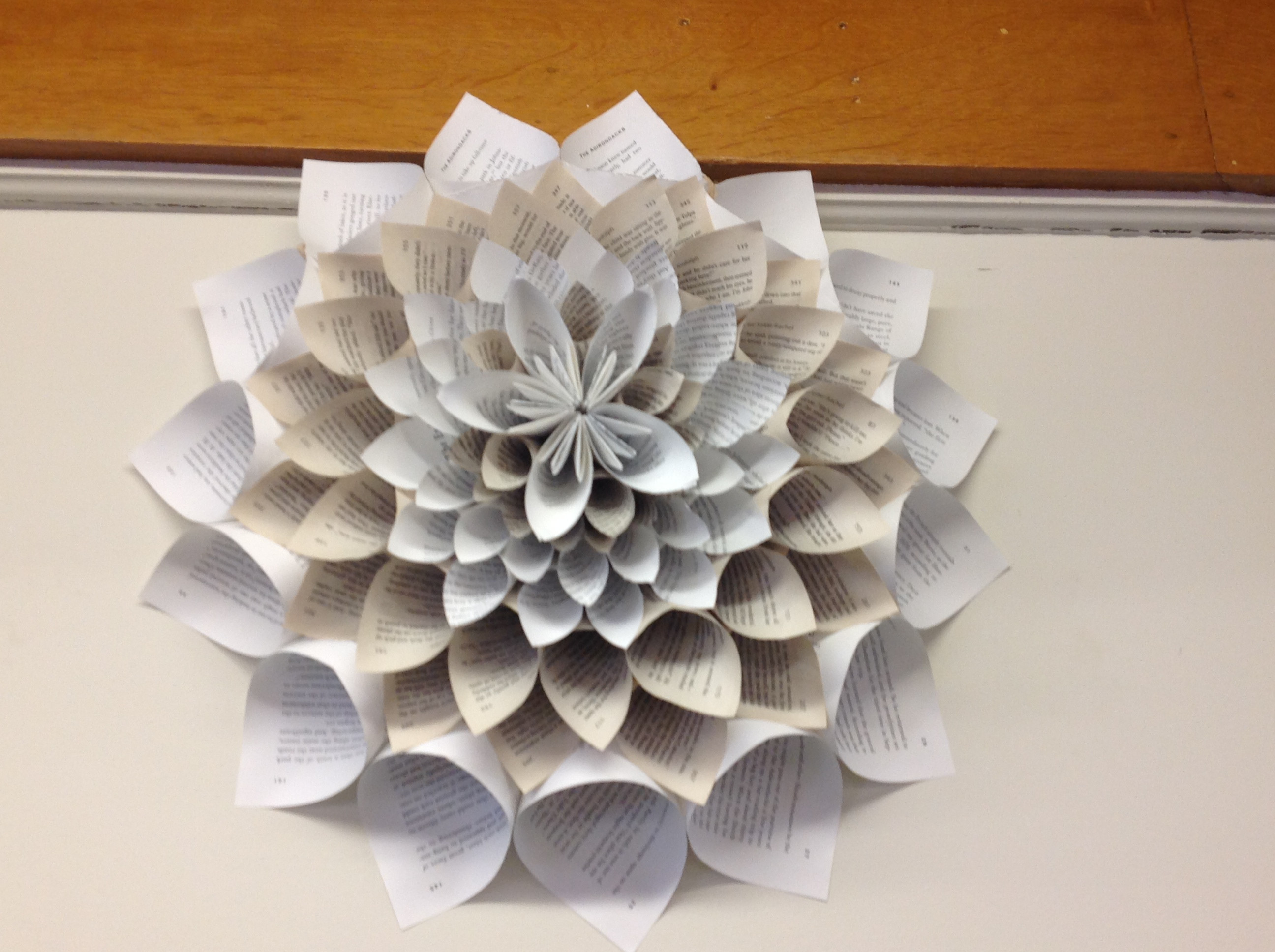 Best ideas about Craft Project Ideas For Adults . Save or Pin Book Craft at Greenfield Public Library Library as Now.