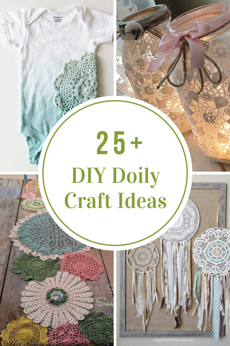 Best ideas about Craft Project Ideas . Save or Pin DIY Doily Craft Ideas The Idea Room Now.
