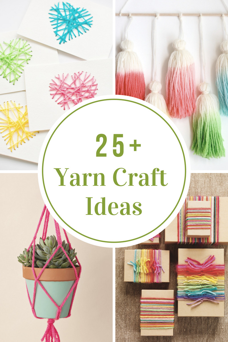 Best ideas about Craft Project Ideas . Save or Pin Yarn Craft Ideas The Idea Room Now.