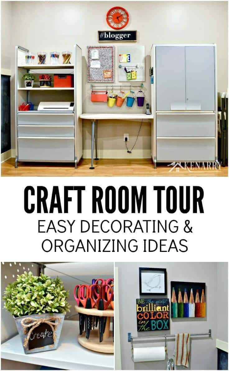 Best ideas about Craft Room Decor . Save or Pin Craft Room Tour Decorating and Organizing Ideas Now.