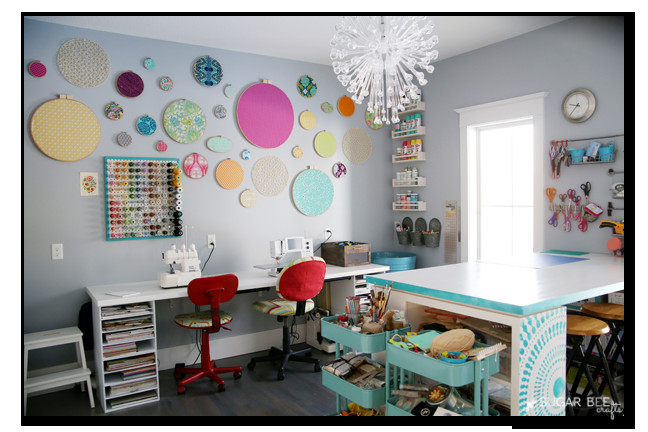 Best ideas about Craft Room Decor . Save or Pin Craft Room Organization Sugar Bee Crafts Now.