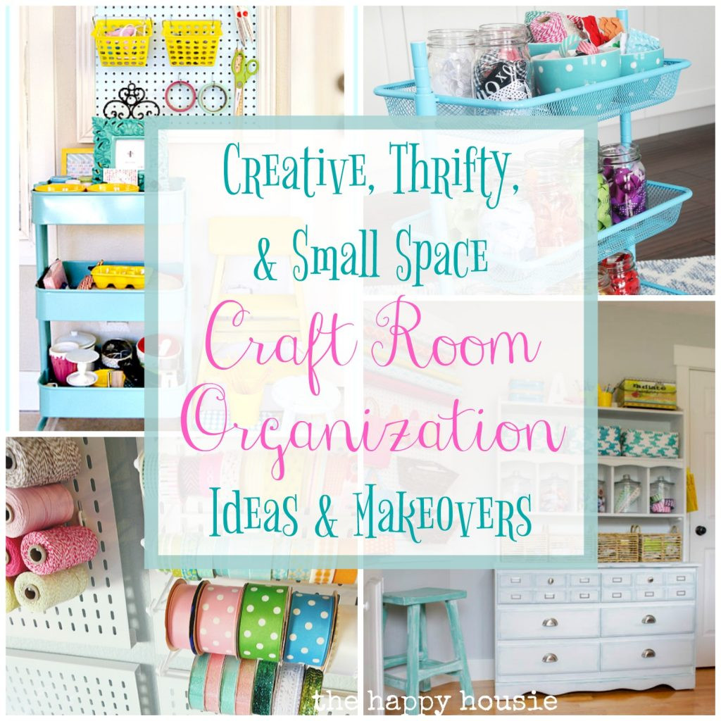 Best ideas about Craft Storage Ideas For Small Spaces . Save or Pin Creative Thrifty & Small Space Craft Room Organization Now.