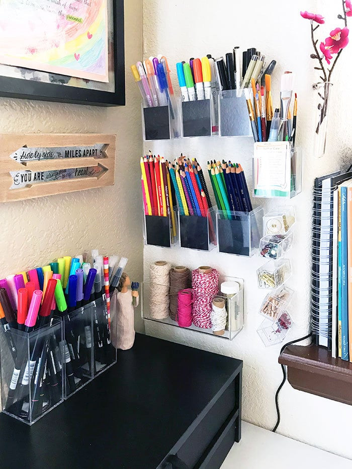 Best ideas about Craft Storage Ideas For Small Spaces . Save or Pin Small Space Craft Room Storage Ideas 100 Directions Now.