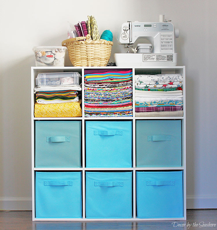 Best ideas about Craft Storage Ideas For Small Spaces . Save or Pin How to Store Your Craft Supplies in a Small Space Decor Now.