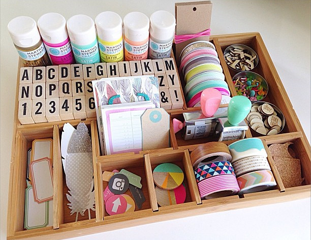 Best ideas about Craft Supply Organization Ideas . Save or Pin Craft supply organization ideas with a printer tray Now.