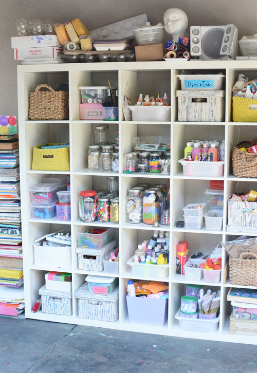 Best ideas about Craft Supply Organization Ideas . Save or Pin e Crafty Mom s Quest to Organize Her Art Supplies Meri Now.
