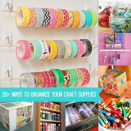 Best ideas about Craft Supply Organization Ideas . Save or Pin How to Organize Craft Supplies 20 Ideas DIY Candy Now.