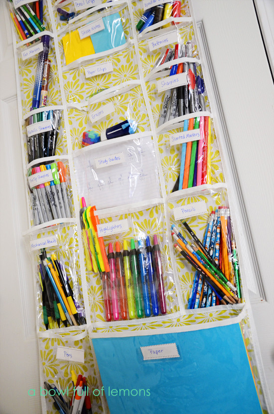 Best ideas about Craft Supply Organization Ideas . Save or Pin Homeschool Organization Now.