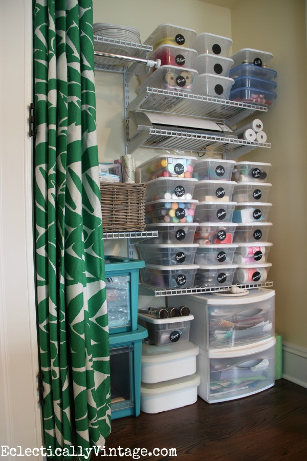 Best ideas about Craft Supply Organization Ideas . Save or Pin Craft Supply Organization Tips Now.