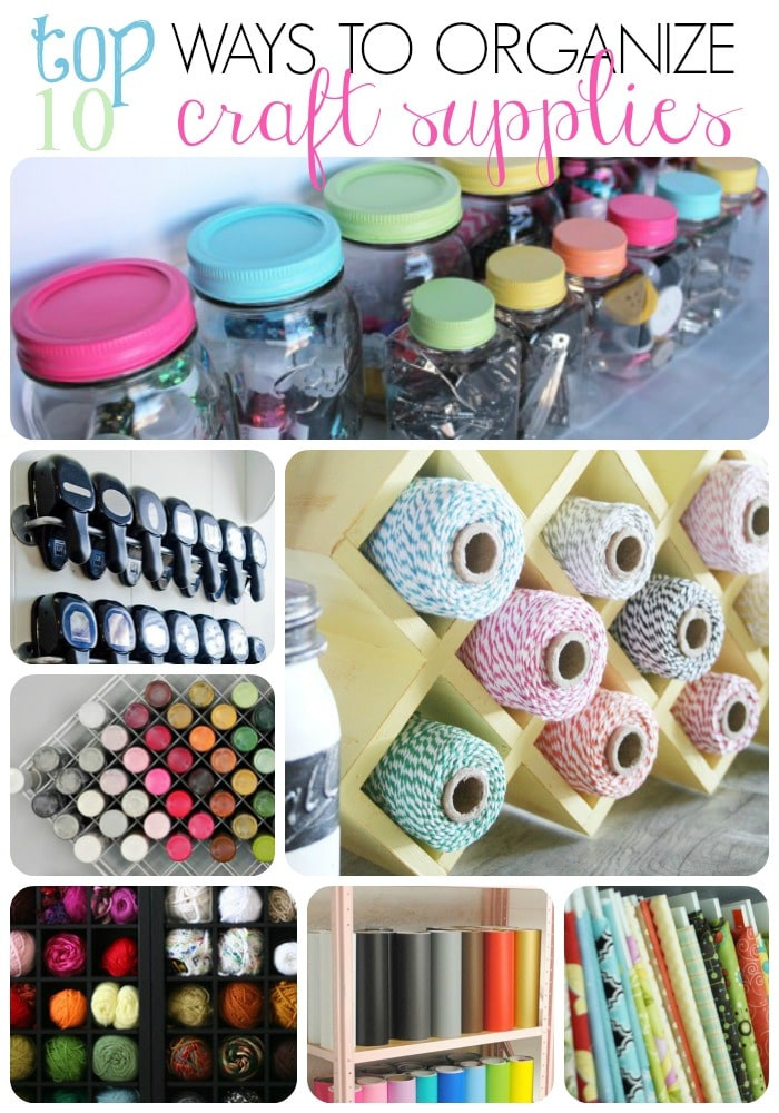 Best ideas about Craft Supply Organization Ideas . Save or Pin Craft Supply Organization Ideas Now.