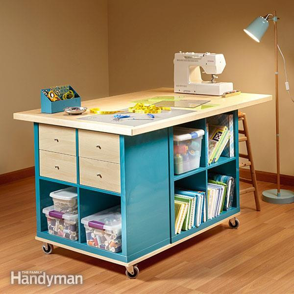 Best ideas about Craft Table Ideas . Save or Pin 25 Creative DIY Projects to Make a Craft Table i Now.