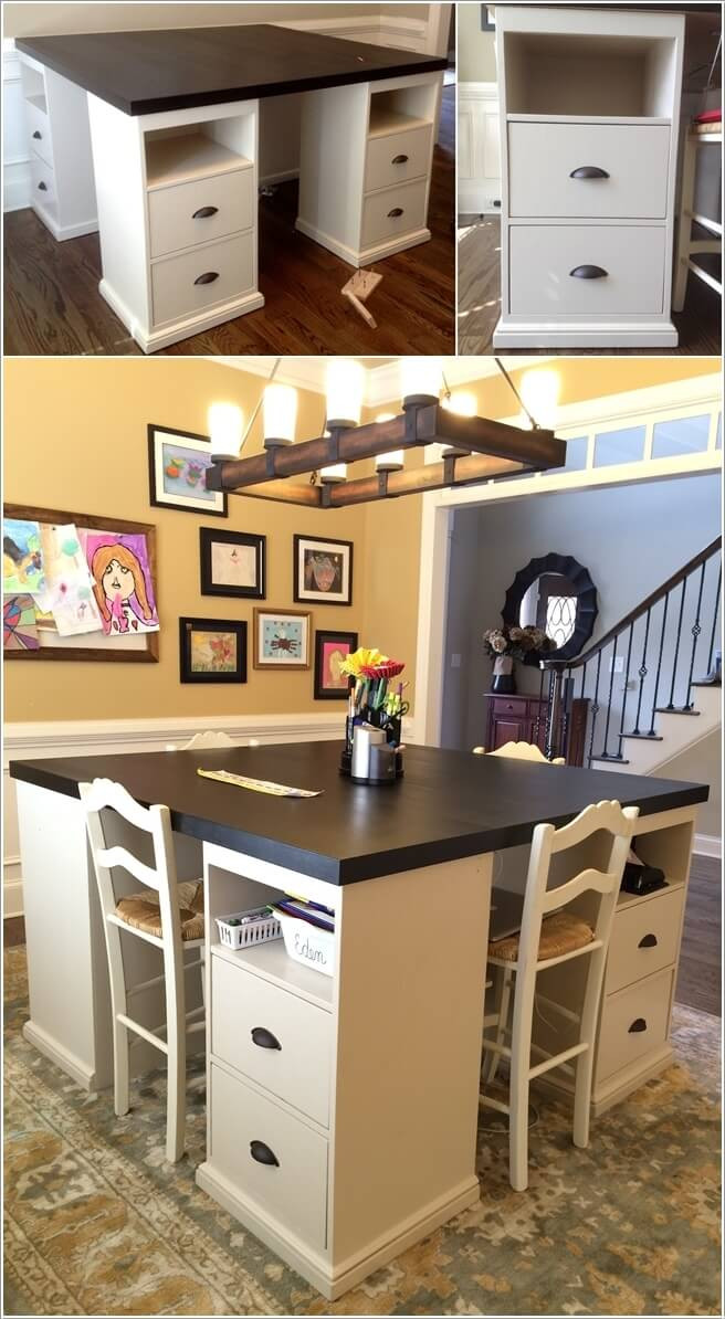 Best ideas about Craft Table Ideas . Save or Pin 10 Cool DIY Craft Table Ideas for Your Craft Room Now.