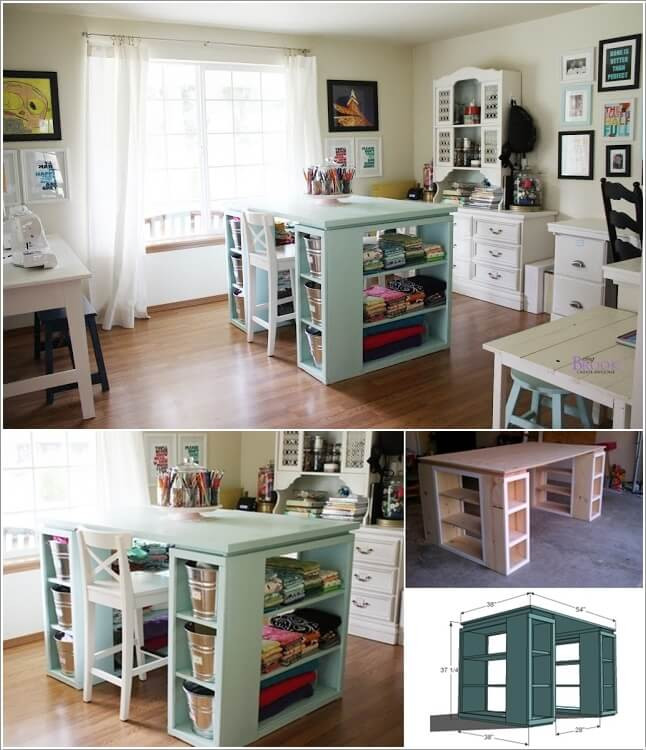 Best ideas about Craft Table Ideas . Save or Pin Amazing Interior Design — New Post has been published on Now.