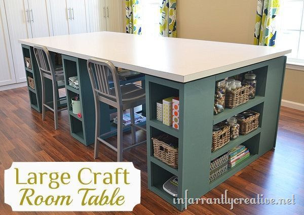 Best ideas about Craft Table Ideas . Save or Pin Craft Table Infarrantly Creative Now.