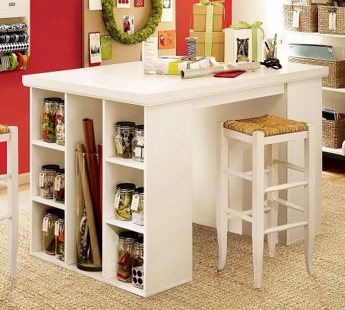 Best ideas about Craft Table Ideas . Save or Pin HomeAndStories Ideas for small spaces part 2 Now.