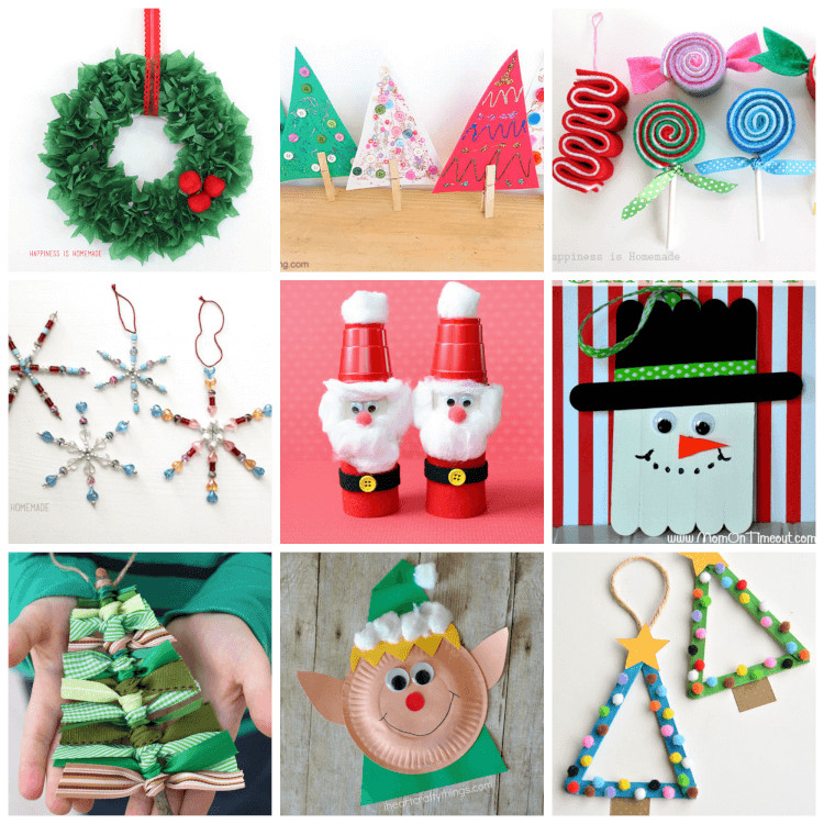 Best ideas about Crafts To Make For Christmas . Save or Pin Easy Christmas Kids Crafts that Anyone Can Make Now.