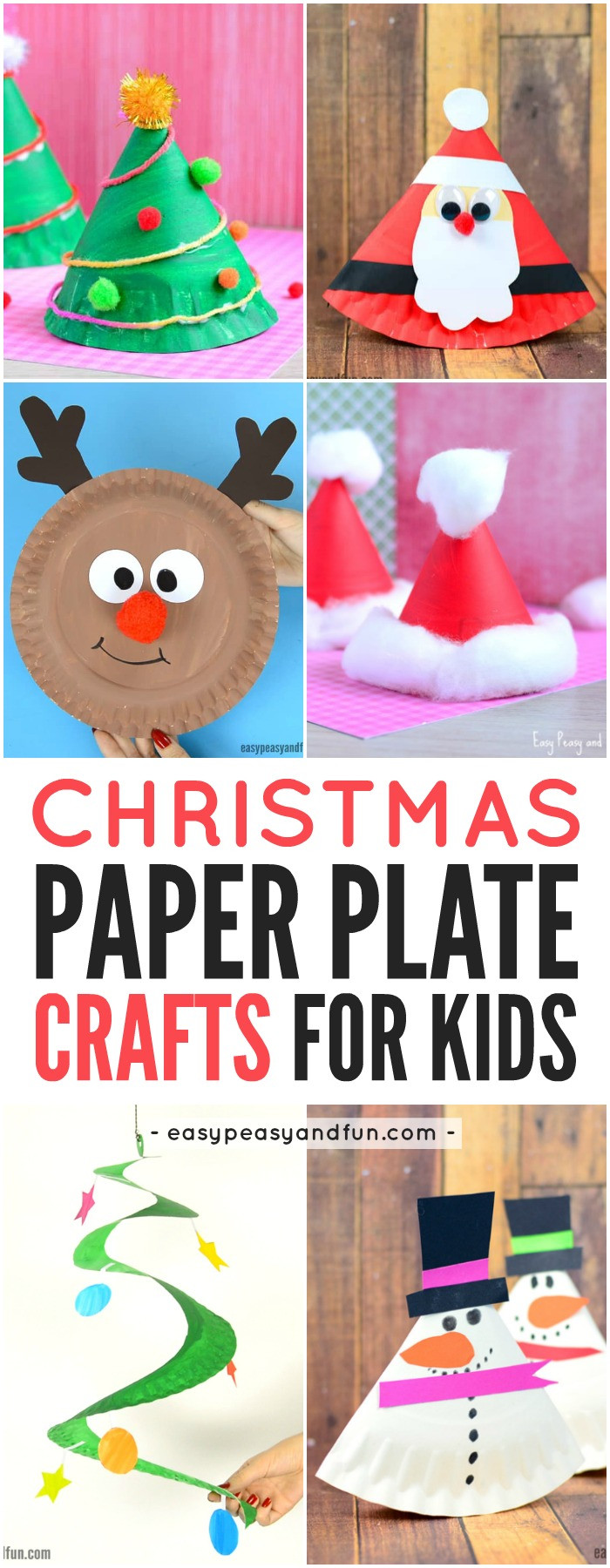 Best ideas about Crafts To Make For Christmas . Save or Pin Paper Plate Christmas Crafts Easy Peasy and Fun Now.