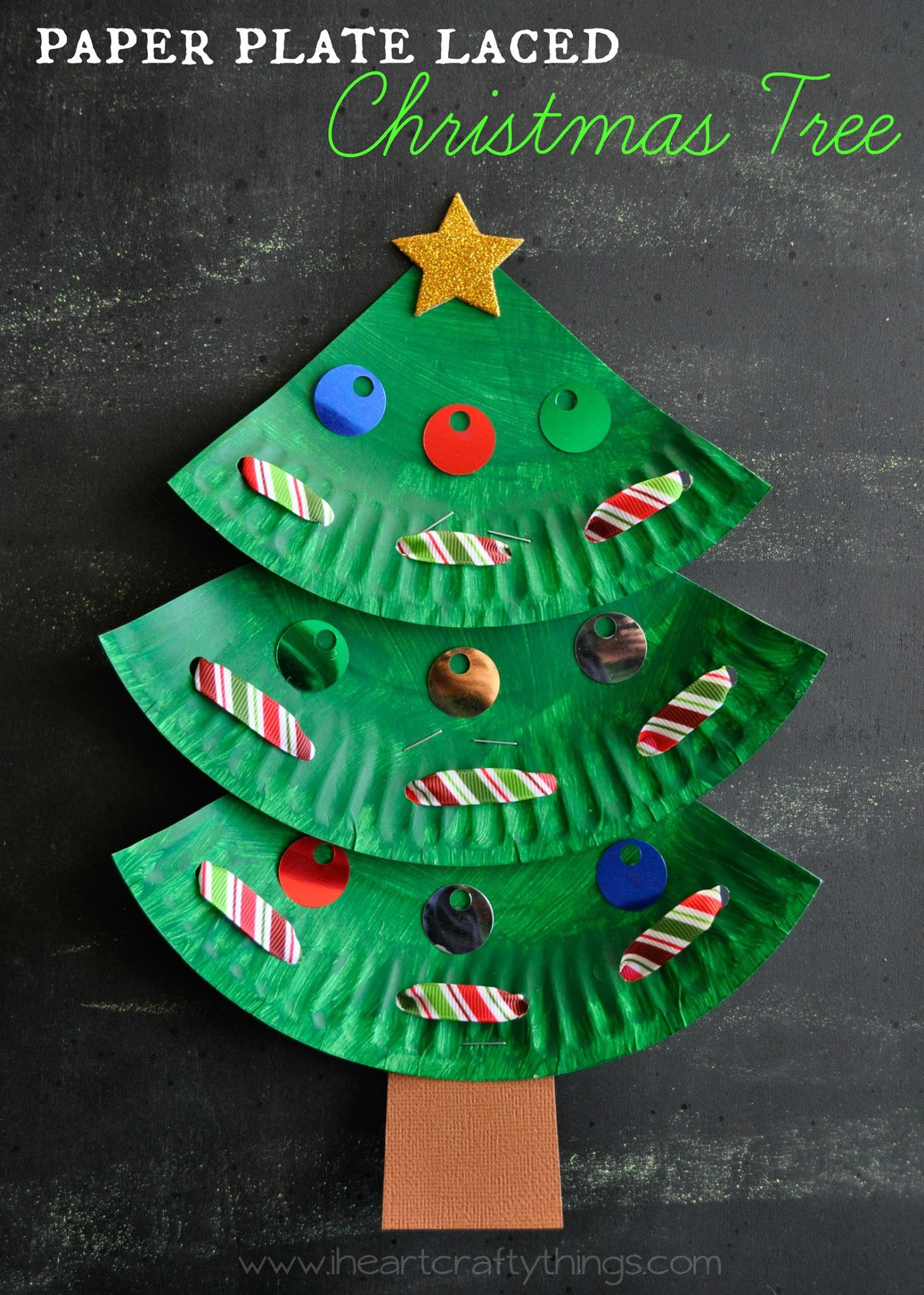 Best ideas about Crafts To Make For Christmas . Save or Pin Paper Plate Christmas Crafts U Create Now.