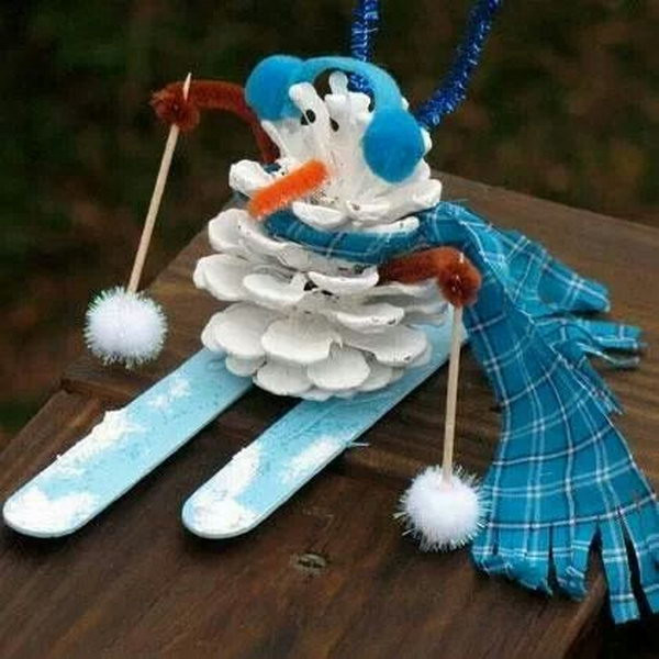 Best ideas about Crafts To Make For Christmas . Save or Pin 25 Cool Snowman Crafts for Christmas Hative Now.