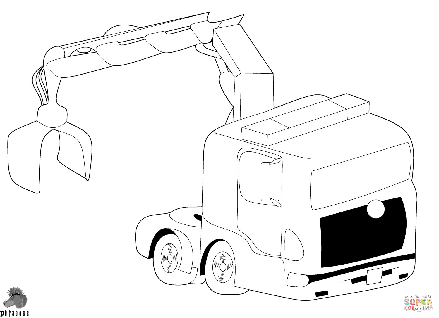 Best ideas about Crane Coloring Pages For Kids . Save or Pin Crane Coloring Page Coloring Home Now.
