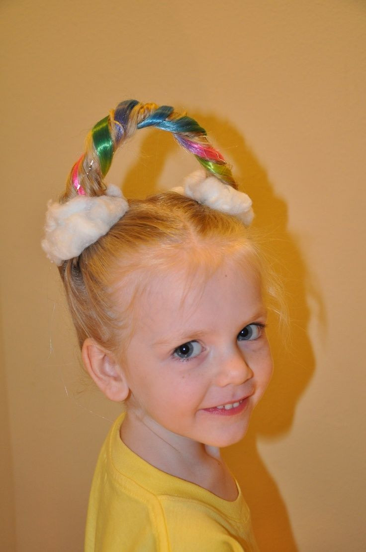 Best ideas about Crazy Girls Haircuts . Save or Pin 30 Ideas for Crazy Hair Day at School Stay at Home Mum Now.