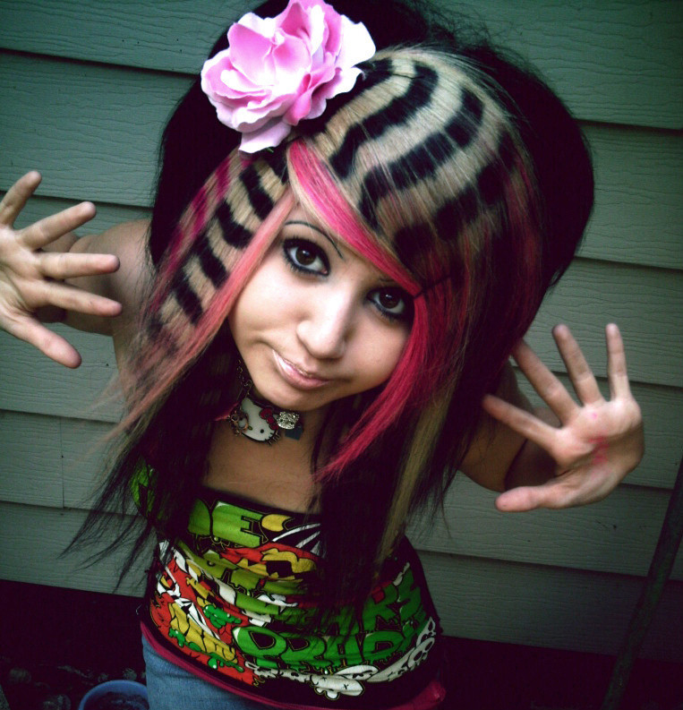 Best ideas about Crazy Girls Haircuts . Save or Pin Fashionista Girl Crazy Wild Hairstyle Now.