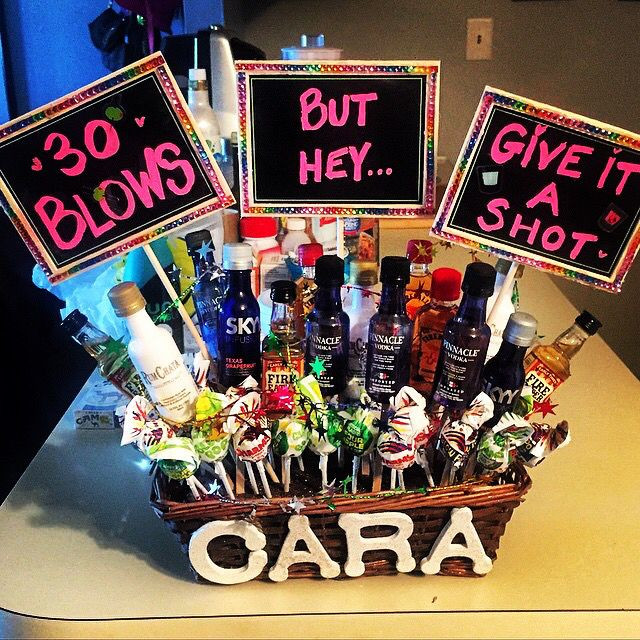 Best ideas about Creative 30Th Birthday Gift Ideas For Him . Save or Pin 30 blows but hey give it a shot I decided to crafty Now.