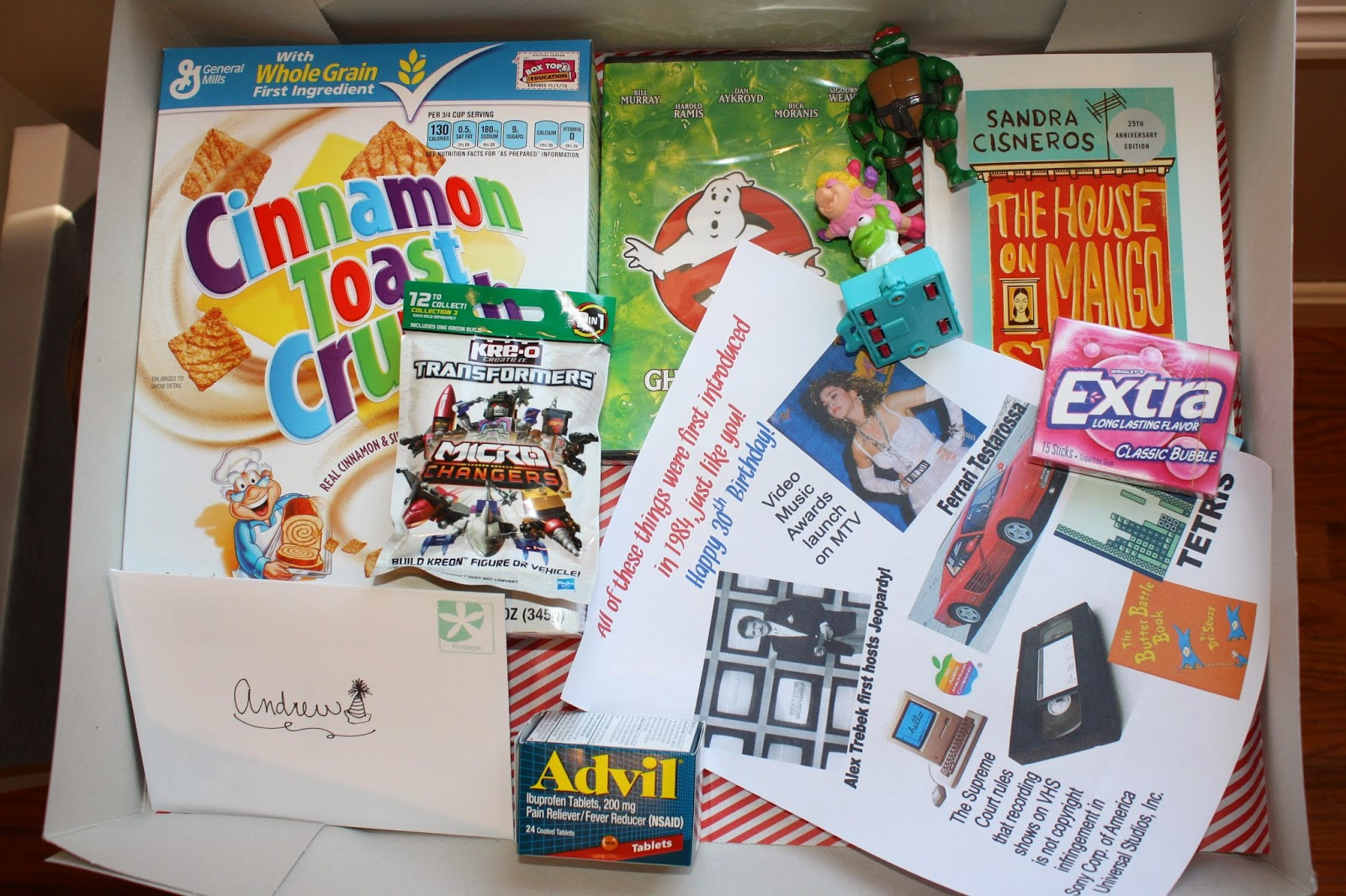 Best ideas about Creative 30Th Birthday Gift Ideas For Him . Save or Pin Craft E Magee 30th Birthday Gift idea Now.