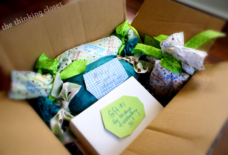 Best ideas about Creative 30Th Birthday Gift Ideas For Him . Save or Pin Creative 30th Birthday Gift Idea — the thinking closet Now.