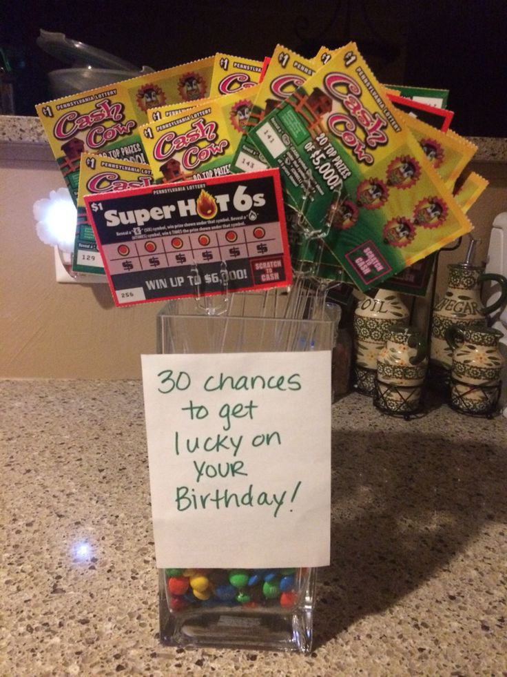 Best ideas about Creative 30Th Birthday Gift Ideas For Him . Save or Pin 17 best images about 30th Bday on Pinterest Now.