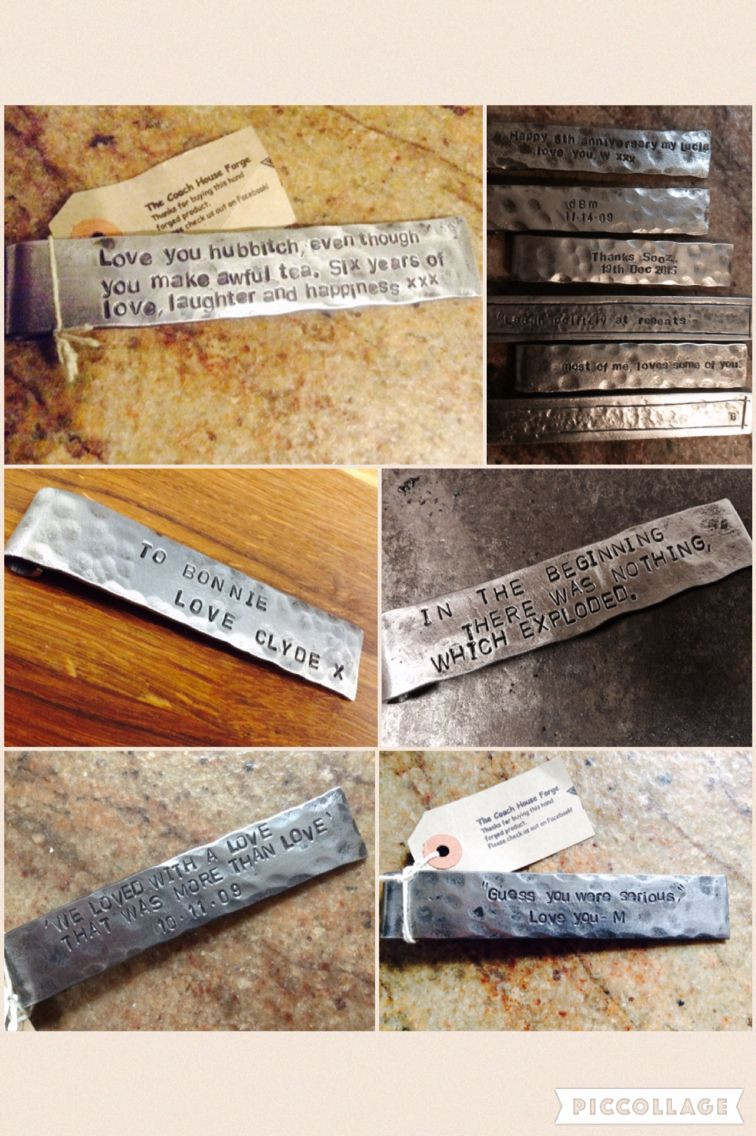 Best ideas about Creative 6Th Anniversary Gift Ideas . Save or Pin 6th Wedding Anniversary Gift Idea Iron Bookmark Now.