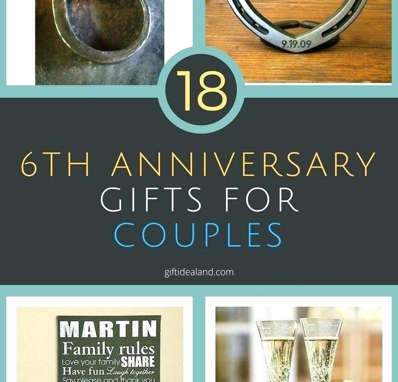 Best ideas about Creative 6Th Anniversary Gift Ideas . Save or Pin 6th Anniversary Gift Ideas For Him Iron Now.