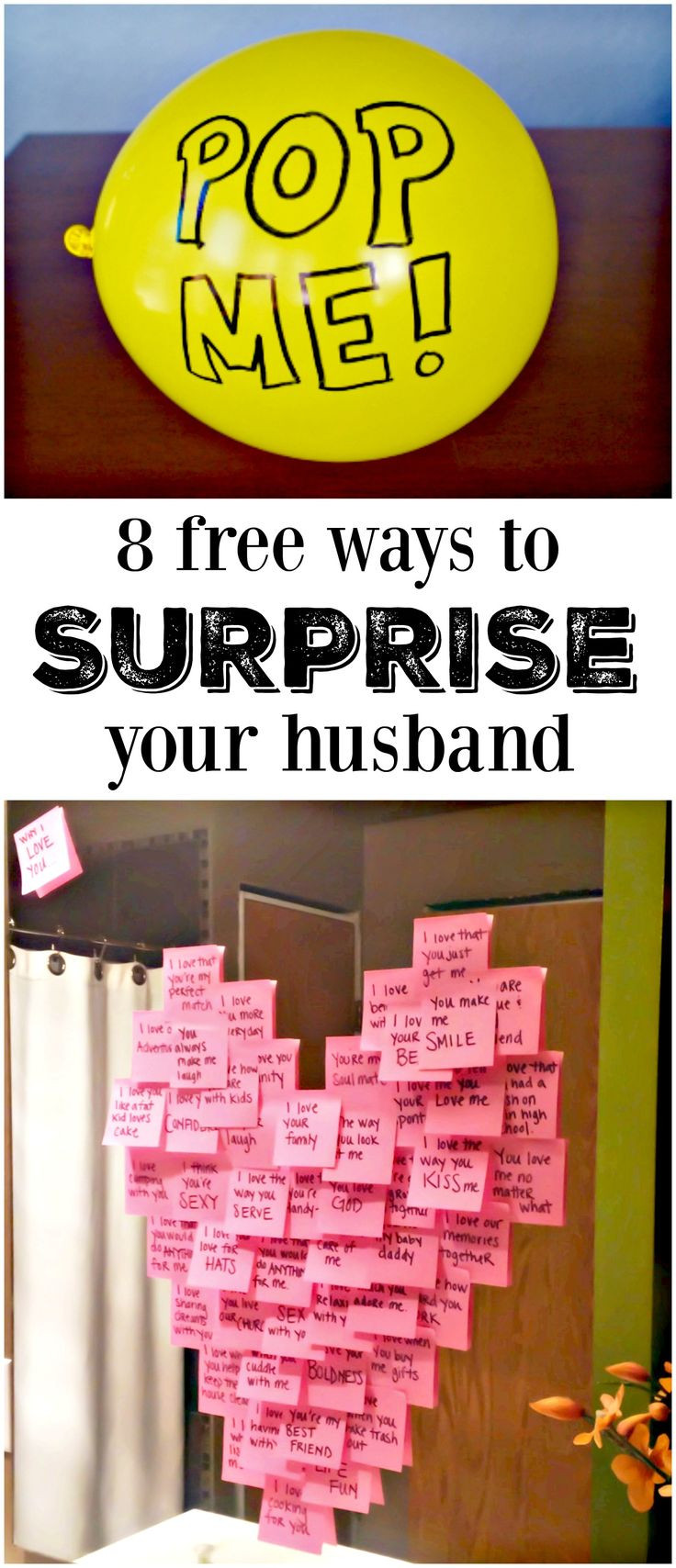 Best ideas about Creative Birthday Ideas For Husband . Save or Pin 25 best ideas about Husband birthday ts on Pinterest Now.