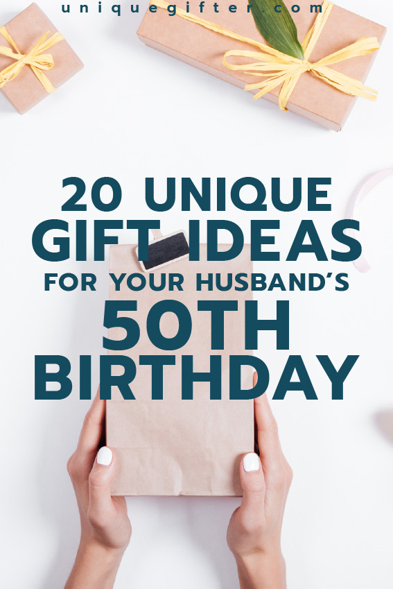 Best ideas about Creative Birthday Ideas For Husband . Save or Pin Gift Ideas for your Husband's 50th Birthday Now.