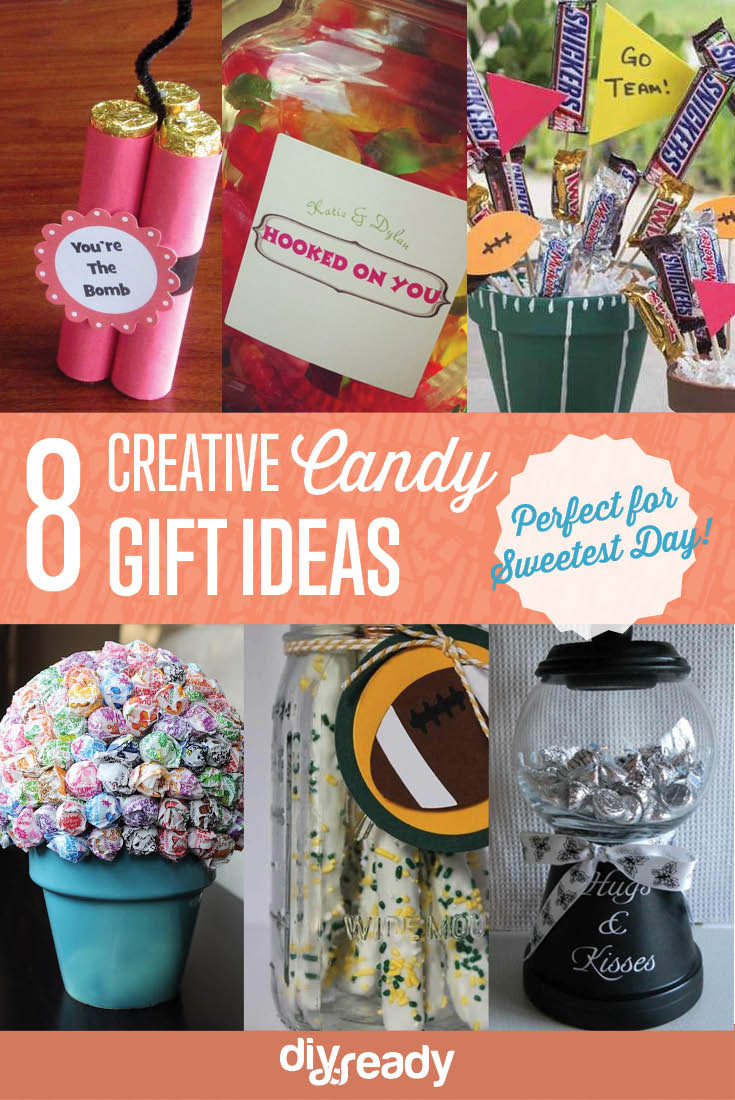 Best ideas about Creative Candy Gift Ideas . Save or Pin creative candy t ideas Now.
