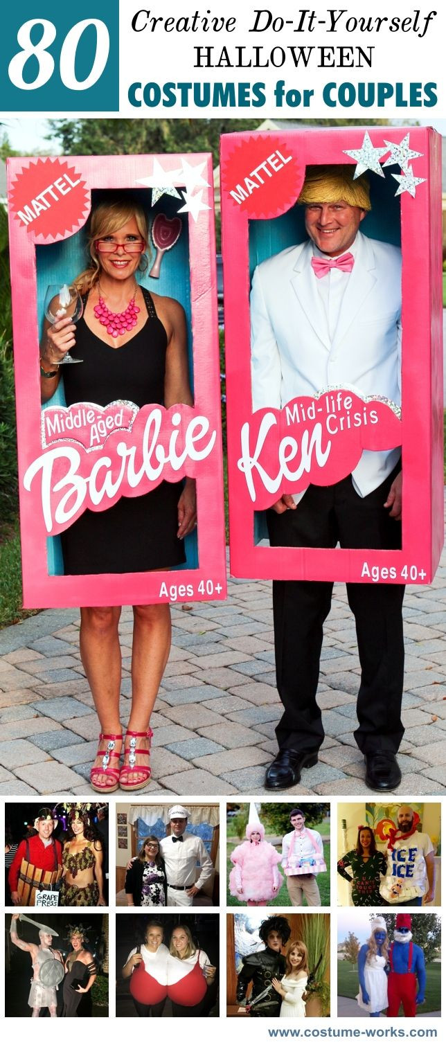 Best ideas about Creative DIY Costume . Save or Pin Best 25 Creative couple costumes ideas on Pinterest Now.