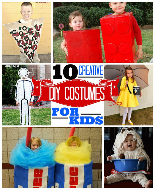 Best ideas about Creative DIY Costume . Save or Pin EAT SLEEP MAKE 10 Creative DIY Costumes for Kids Now.