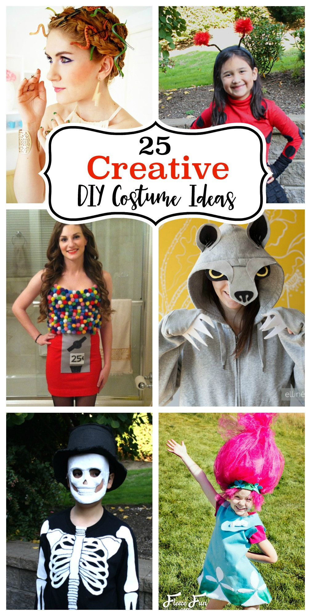 Best ideas about Creative DIY Costume . Save or Pin 25 Creative DIY Costume Ideas Now.