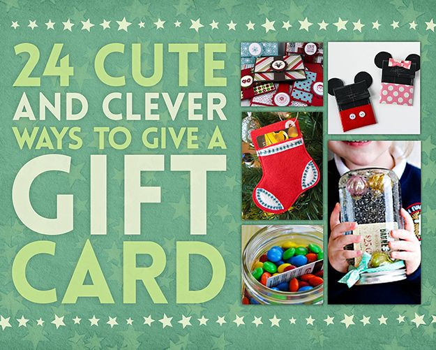 Best ideas about Creative Ideas For Presenting Gift Cards . Save or Pin 24 Cute And Clever Ways To Give A Gift Card Now.