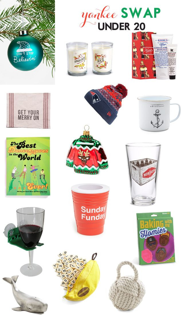 Best ideas about Creative Yankee Swap Gift Ideas . Save or Pin YANKEE SWAP CLEVER GIFTS UNDER 20 Now.