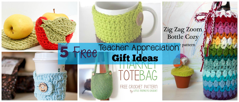 Best ideas about Crochet Gift Ideas . Save or Pin 5 Free Crochet Teacher Appreciation Gift Ideas The Now.