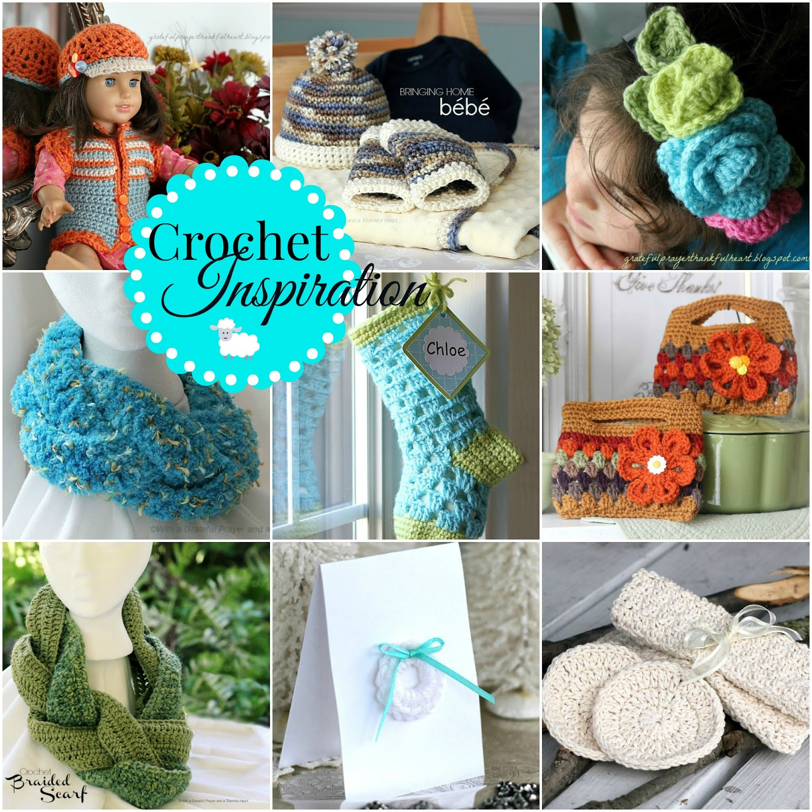 Best ideas about Crochet Gift Ideas . Save or Pin With a Grateful Prayer and a Thankful Heart Crochet Now.