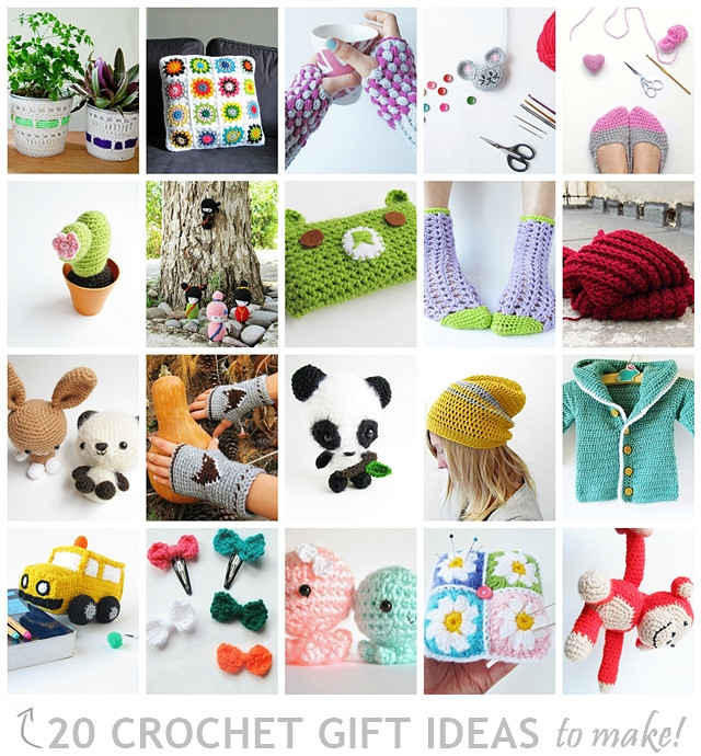 Best ideas about Crochet Gift Ideas . Save or Pin 20 Crochet Gift Ideas To Make Now.