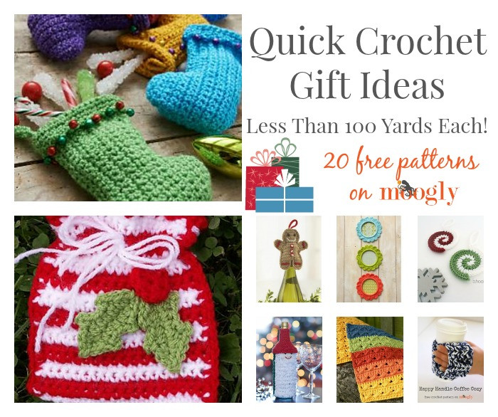 Best ideas about Crochet Gift Ideas . Save or Pin Quick Crochet Gift Ideas Less Than 100 Yards Each Now.