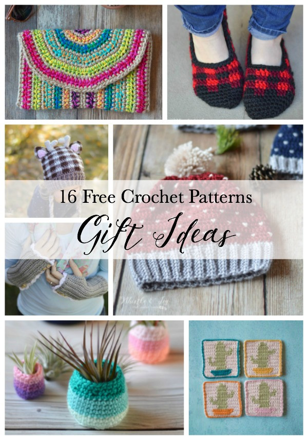 Best ideas about Crochet Gift Ideas . Save or Pin 16 Crochet Gift Ideas crochet ts for any occasion A Now.