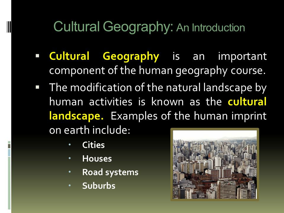 Best ideas about Cultural Landscape Examples . Save or Pin Advanced Placement Human Geography ppt video online Now.