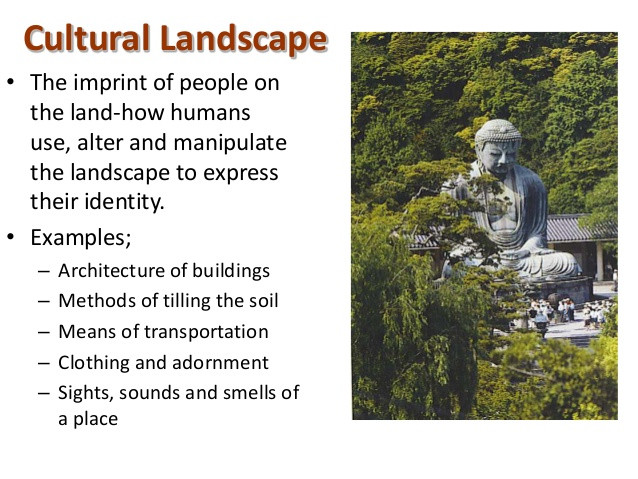 Best ideas about Cultural Landscape Examples . Save or Pin Culture 2 Now.