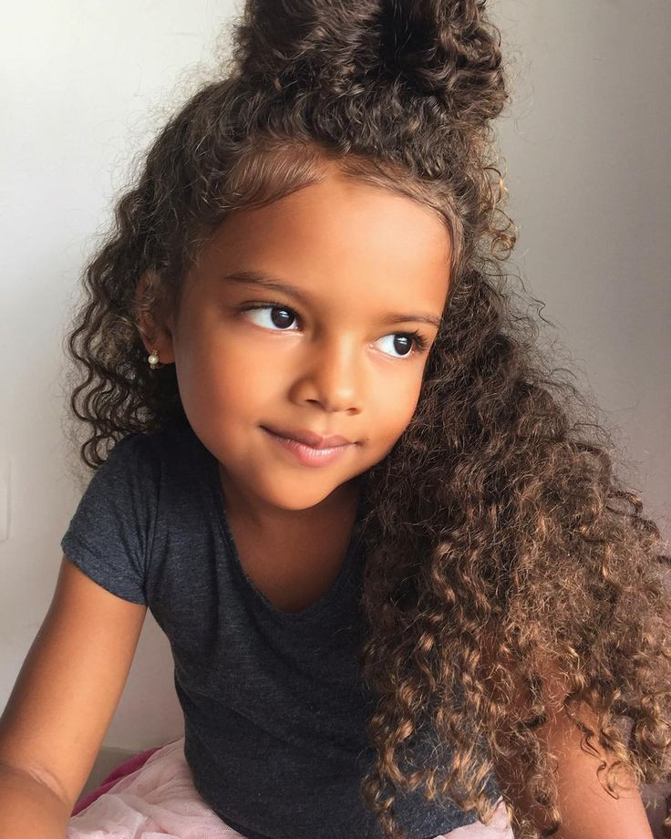 Best ideas about Curled Hairstyles For Kids . Save or Pin 25 best ideas about Kids curly hairstyles on Pinterest Now.